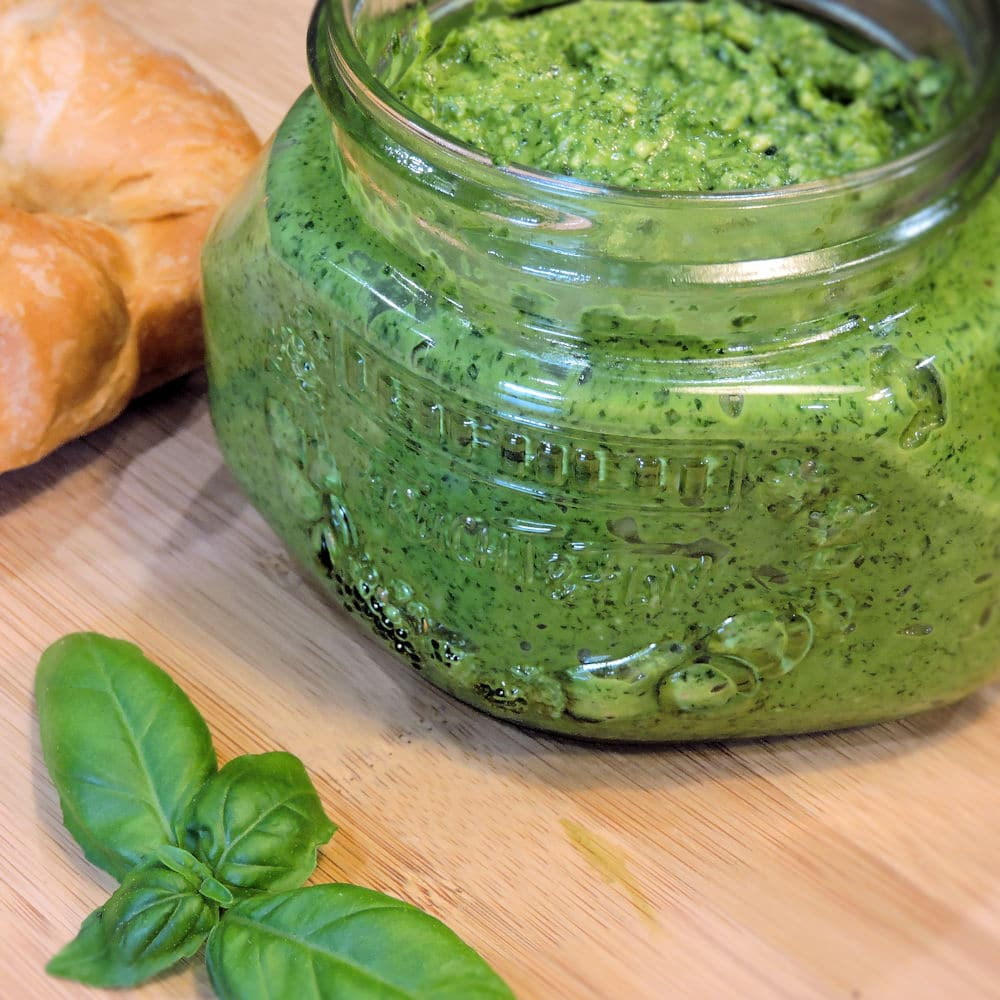 24Bite: Making Basil Pesto from Scratch, recipe by Christian Guzman