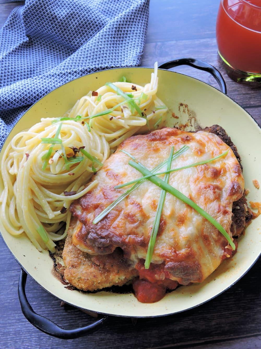 24Bite Recipe: Baked Chicken Parmigiana Recipe Chicken Parm by Christian Guzman