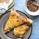 24Bite Recipe: Lasagna Pizza with Homemade Meat Sauce Recipe by Christian Guzman