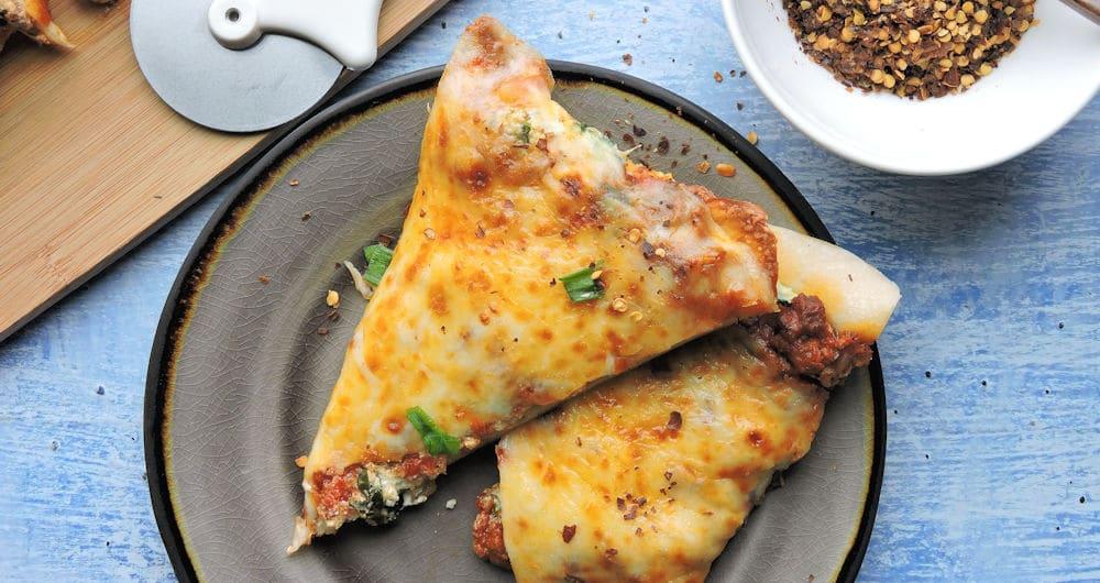 24Bite Recipe: Lasagna Pizza by Christian Guzman