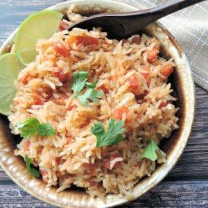 24Bite Recipe: Spanish Rice with Tomatoes and Cilantro by Christian Guzman