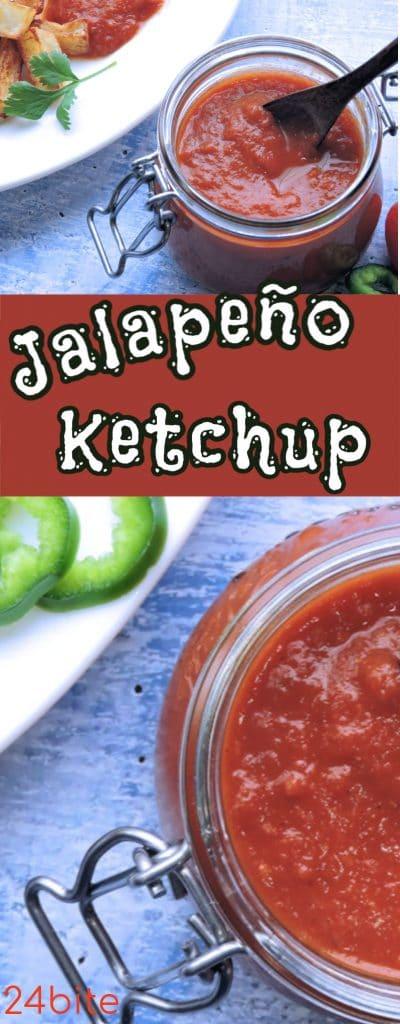 24Bite Recipe: Mild Homemade Ketchup with Jalapeño Recipe by Christian Guzman