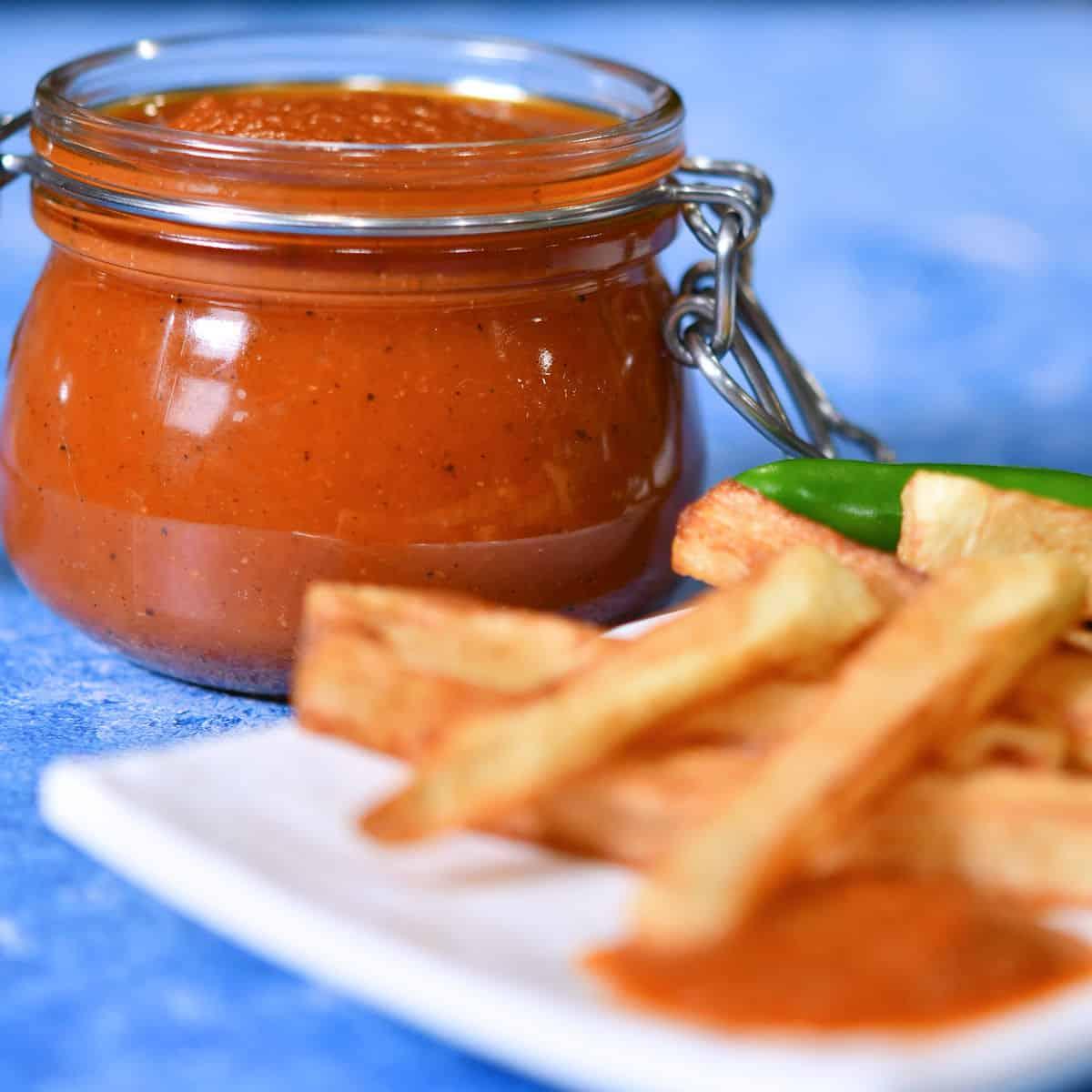 24Bite: Jalapeno Ketchup Recipe by Christian Guzman