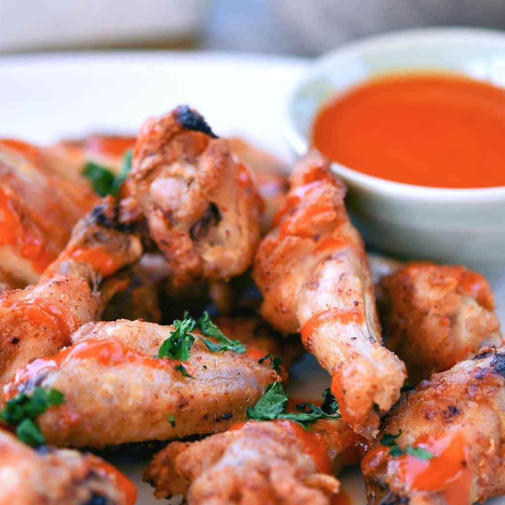 24Bite: Best Easy Baked Chicken Wings Recipe by Christian Guzman