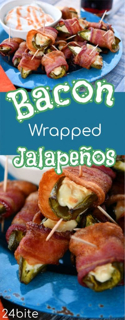 24Bite: Baked Jalapeno Poppers with Bacon by Christian Guzman