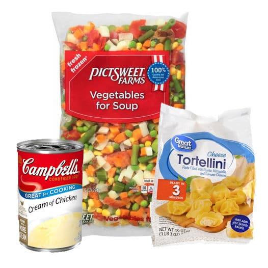 24Bite: Crock Pot Chicken and Tortellini Recipe ingredients by Christian Guzman