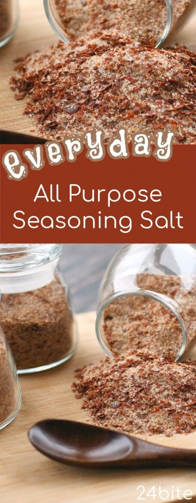 24Bite Recipe: All Purpose Everyday Seasoning Salt Blend by Christian Guzman