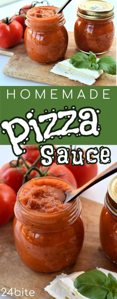 24Bite: Homemade Pizza Sauce Recipe by Christian Guzman