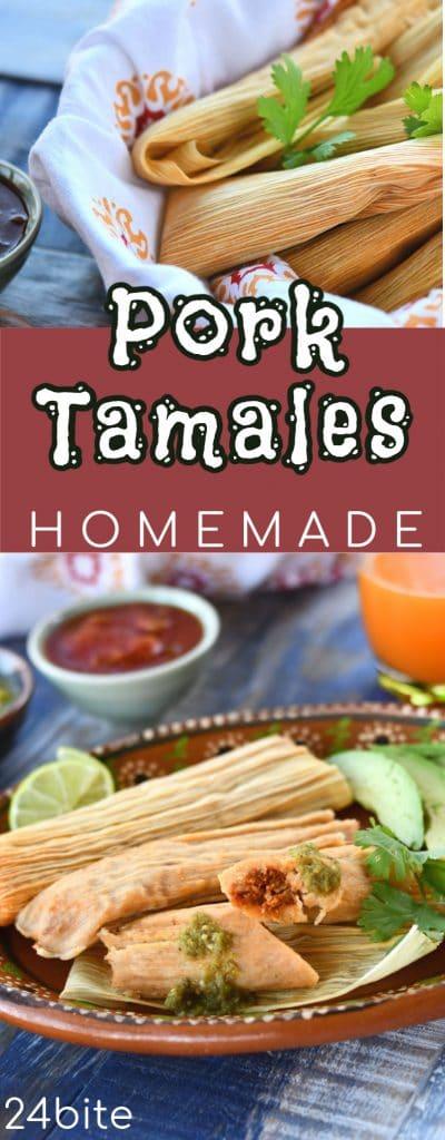 24Bite Recipe: Homemade Pork Tamales by Christian Guzman