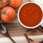 24bite: Homemade Tamale Sauce with Red Chiles