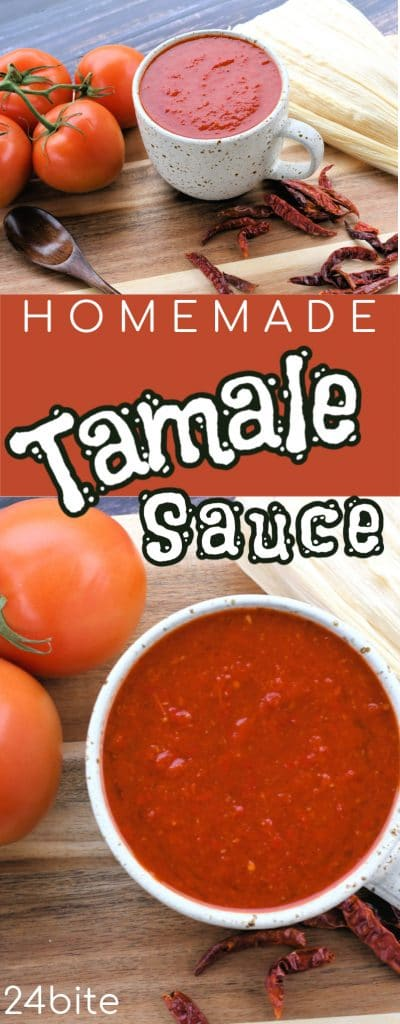 24Bite: Homemade Tamale Sauce with Red Chiles by Christian Guzman