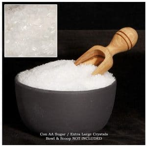 Extra course sugar for pastry decorating
