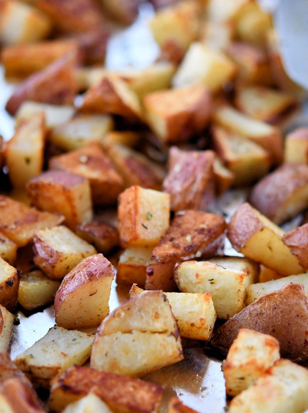 24Bite: Roasted Red Potatoes Recipe by Christian Guzman