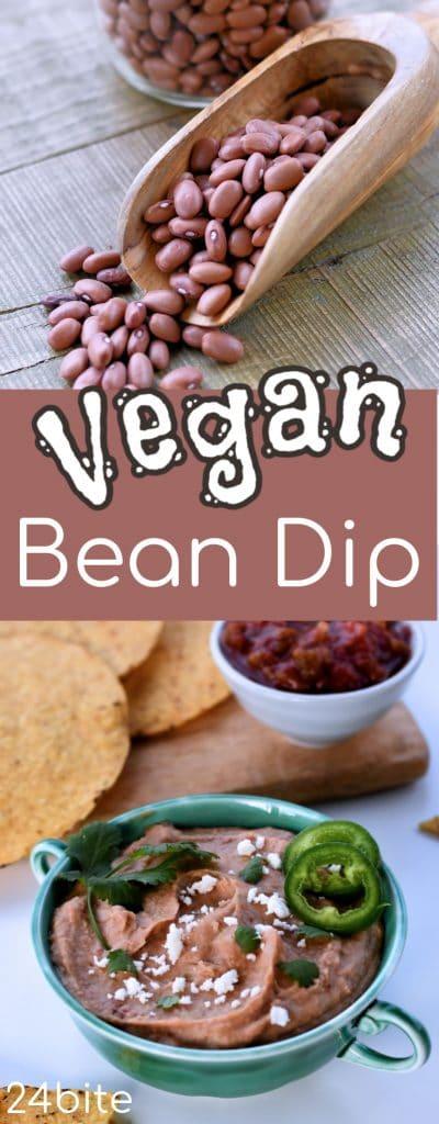 24Bite: Vegan Bean Dip Instant Pot Recipe with Christian Guzman
