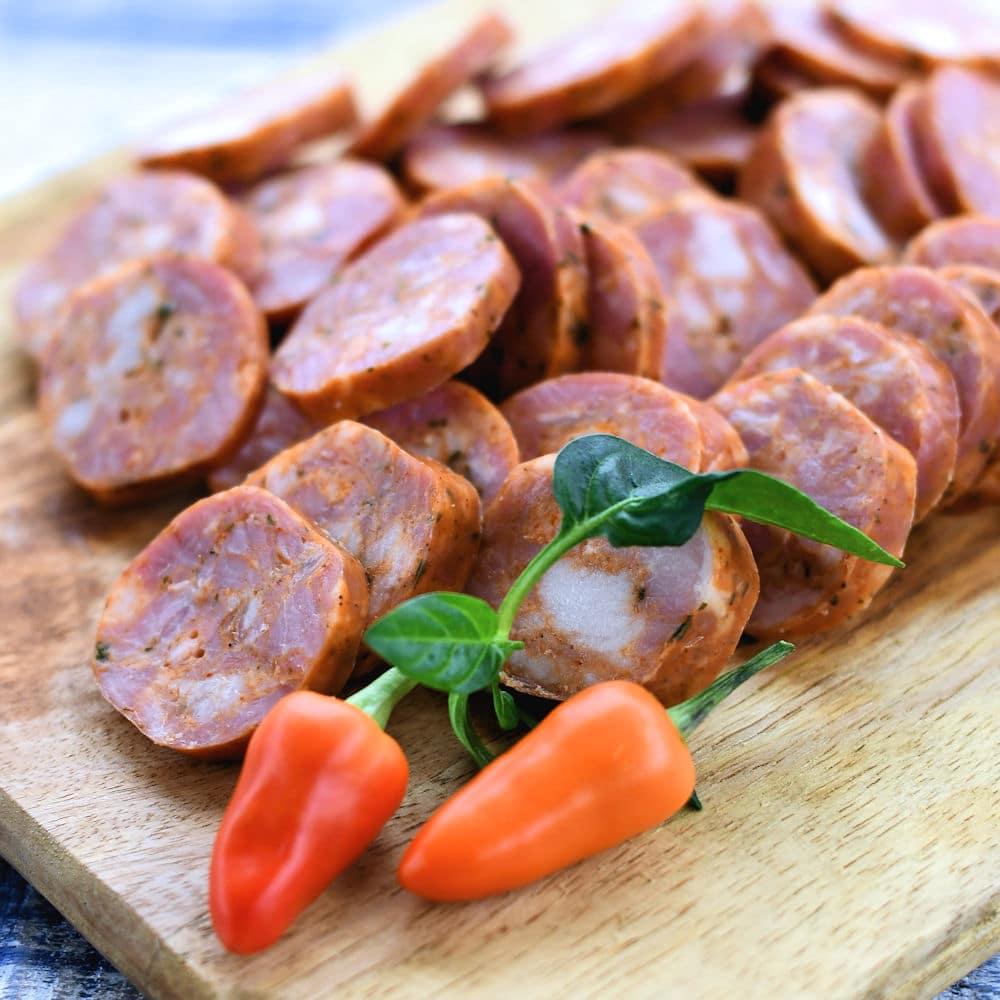 24Bite: Close up of Spanish Chorizo