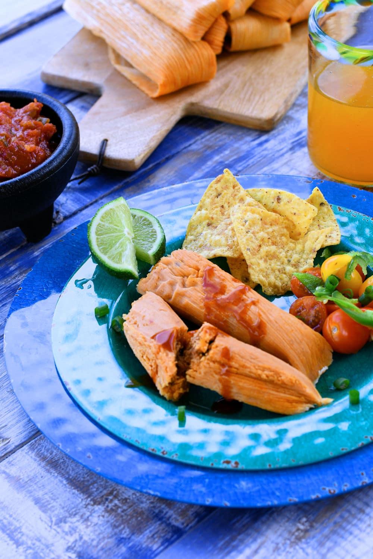 24Bite: Homemade Chorizo Tamales with Ground Beef by Christian Guzman