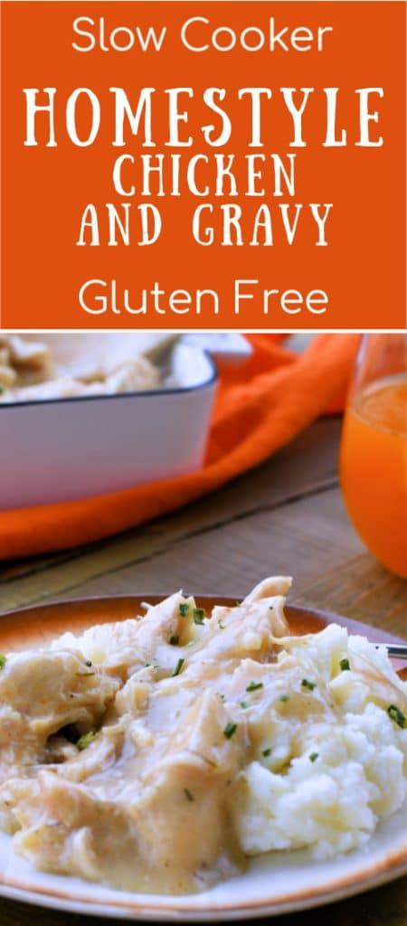 24Bite: Crockpot Chicken and Gravy Gluten Free Recipe by Christian Guzman