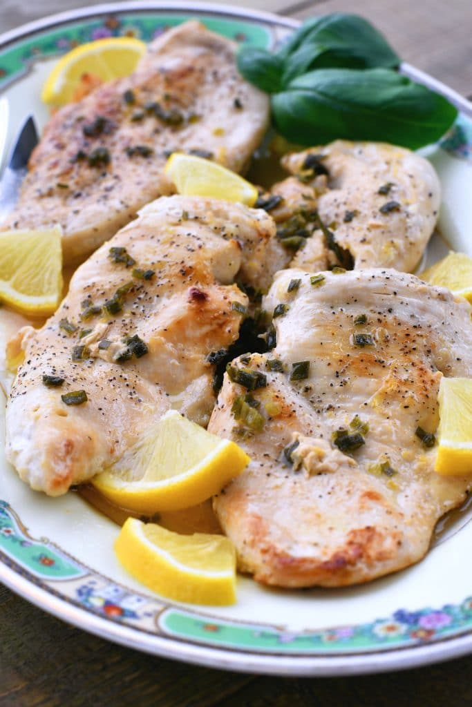 24Bite: Chicken Piccata Recipe Gluten Free by Christian Guzman