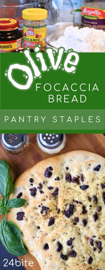 24Bite: How to Make Focaccia Bread with a Standing Mixer by Christian Guzman