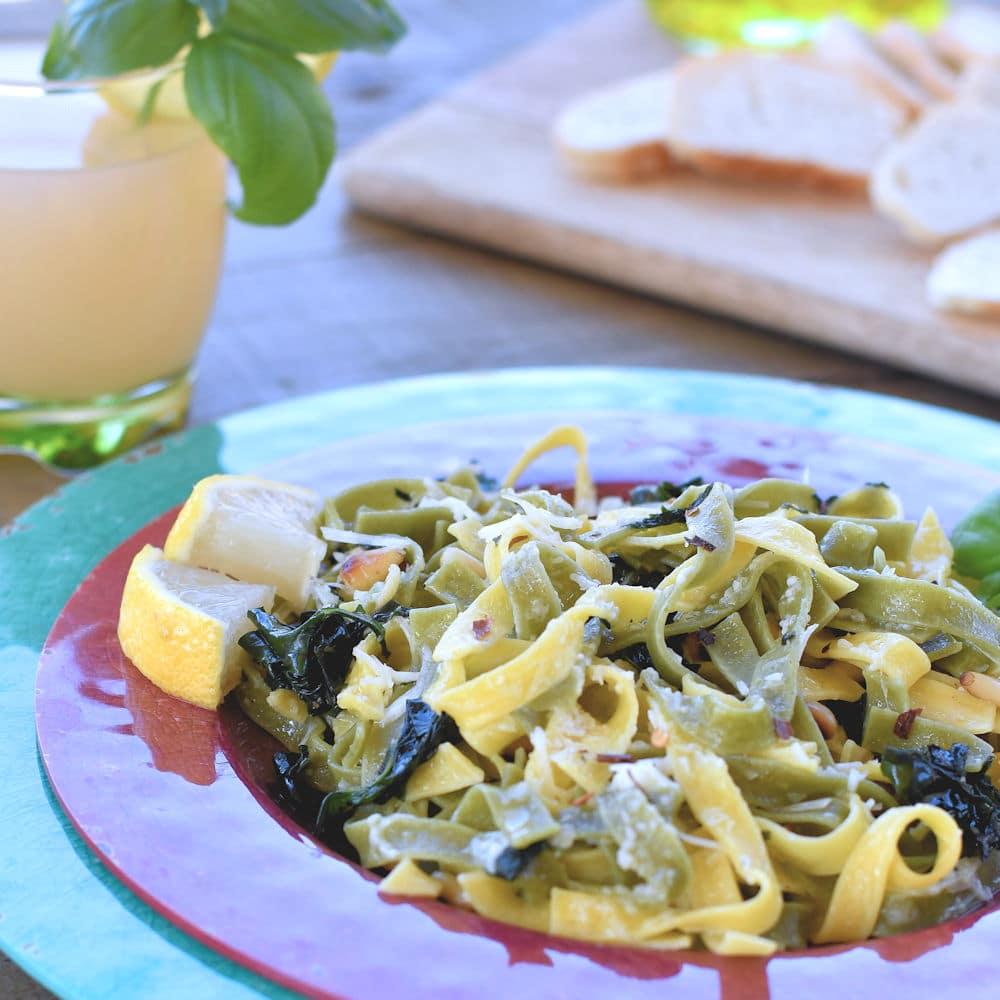 24Bite: Paglia e Fieno Pasta Dinner Recipe by Christian Guzman