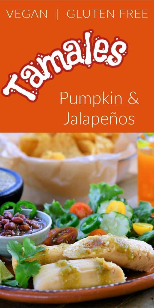 24Bite: Vegan Tamales Recipe: Pumpkin and Jalapeno by Christian Guzman
