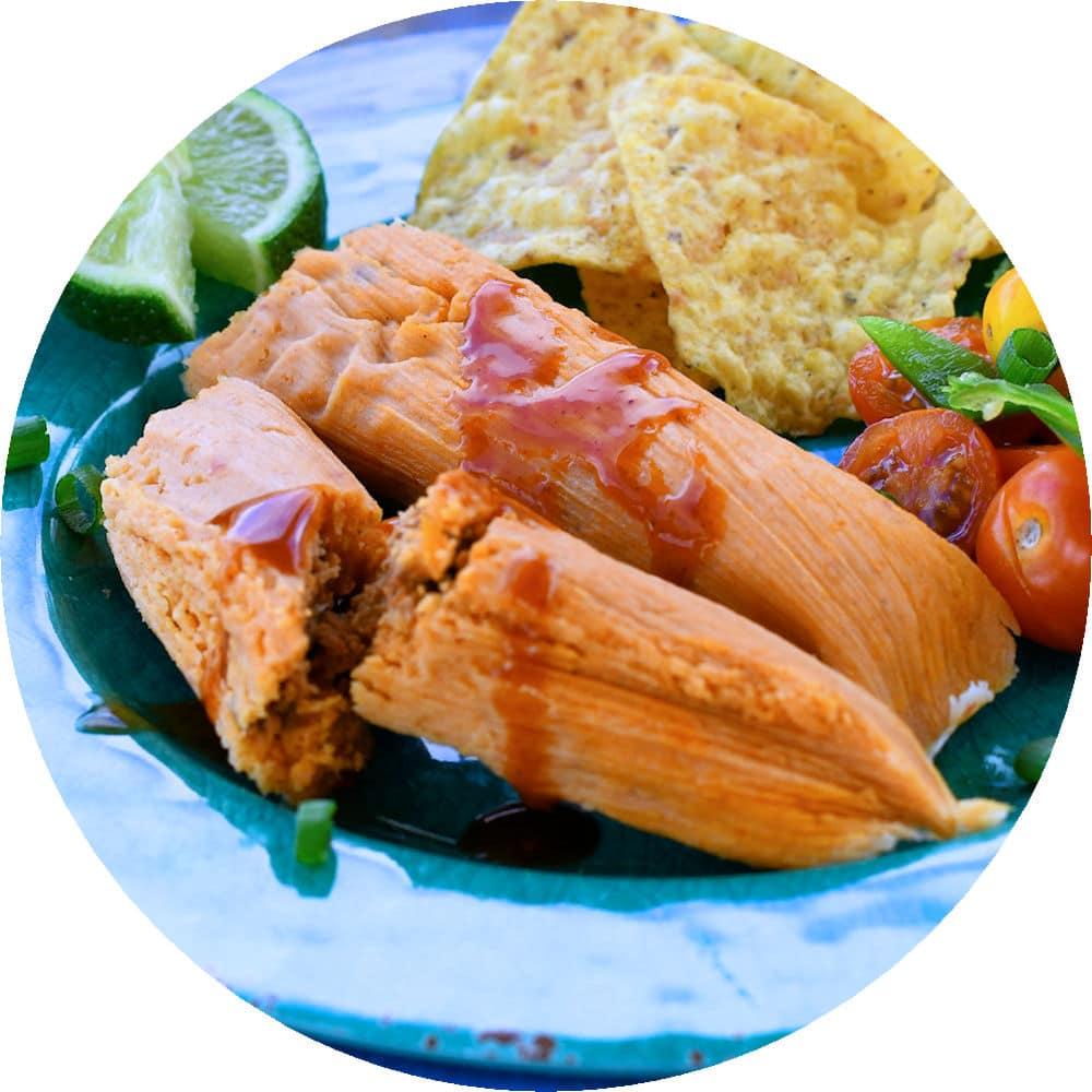 24Bite recipe: Homemade Chorizo Tamales