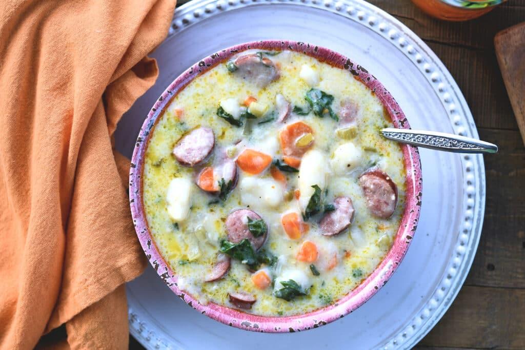 24Bite: Creamy Gnocchi Soup Easy Instant Pot Recipe by Christian Guzman