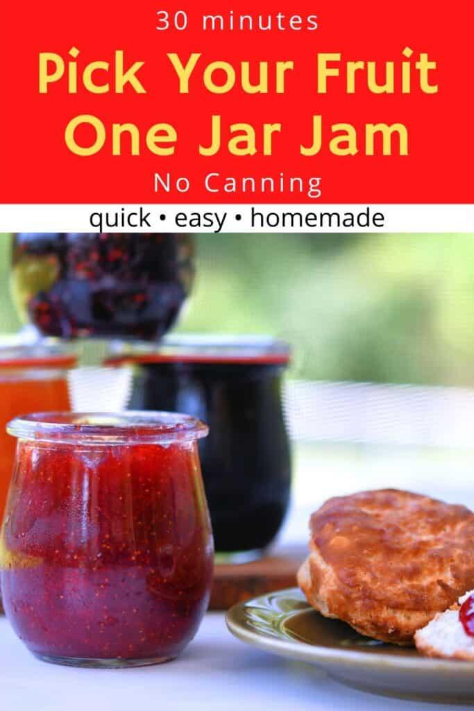 24Bite: 30 Minute One Jar Homemade Fruit Jam Without Pectin Recipe by Christian Guzman