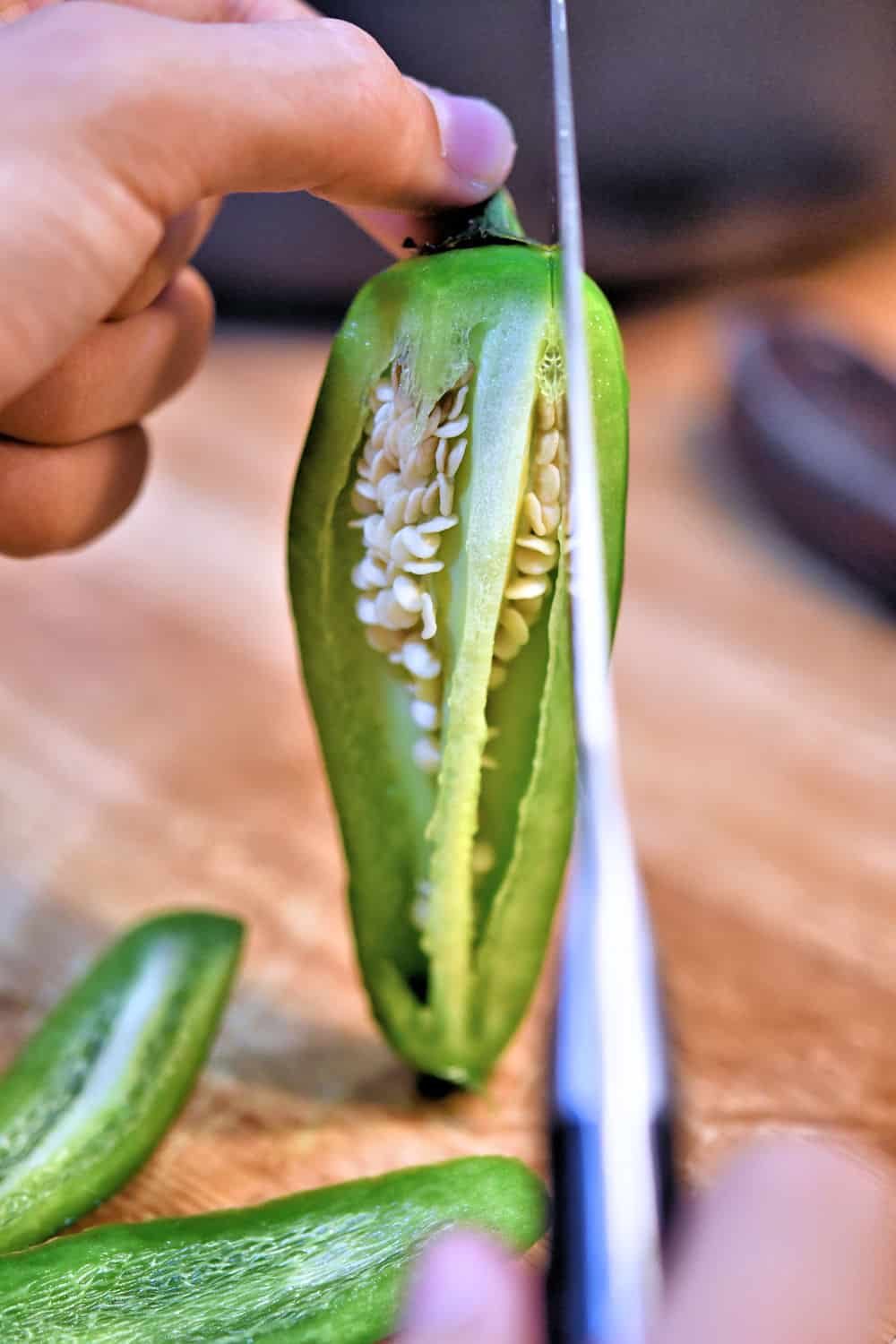24bite tip for cutting a jalapeno