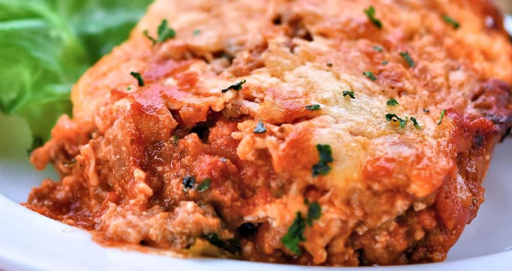 24Bite: Keto No Noodles Meat Lasagna by Christian Guzman