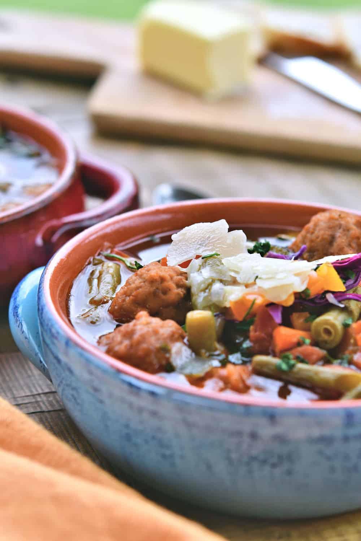 24Bite: Instant Pot Albondigas Soup with Frozen Meatballs Recipe by Christian Guzman