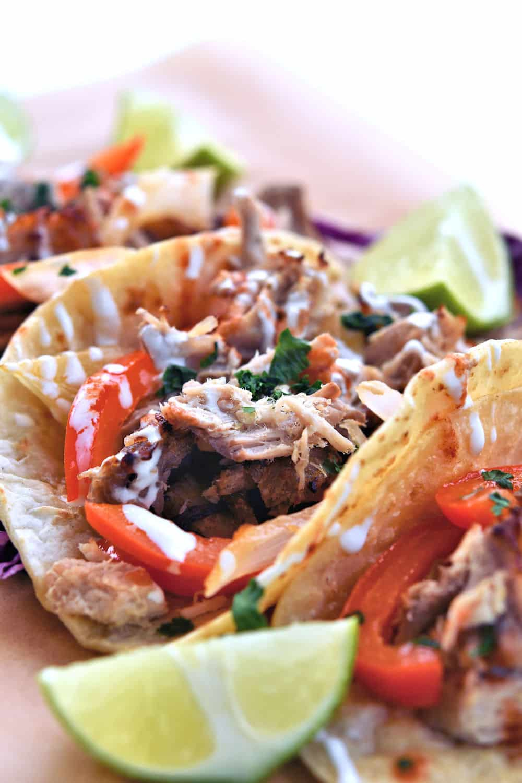 24Bite: Pork Ribeye Roast Mojo Tacos Recipe by Christian Guzman