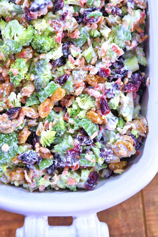 24bite: Creamy Broccoli Salad Recipe by Christian Guzman