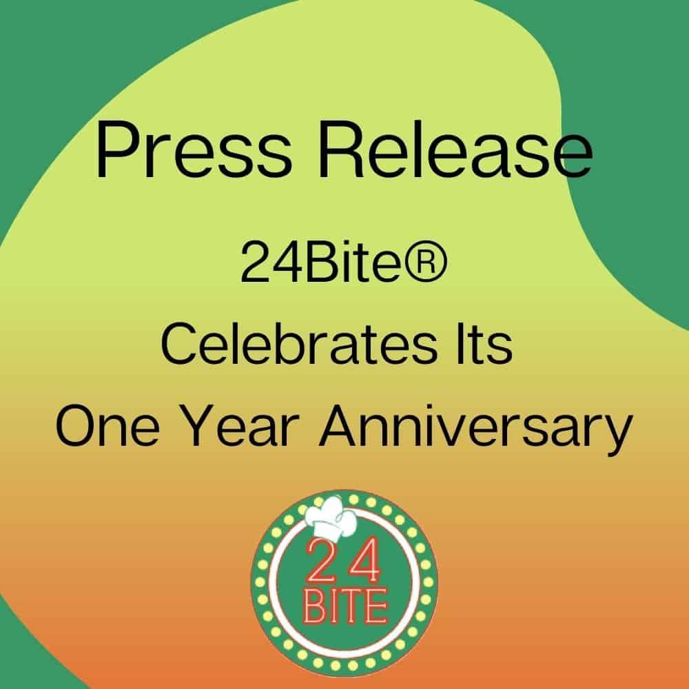 24Bite: Press Release Graphic Decorative Image