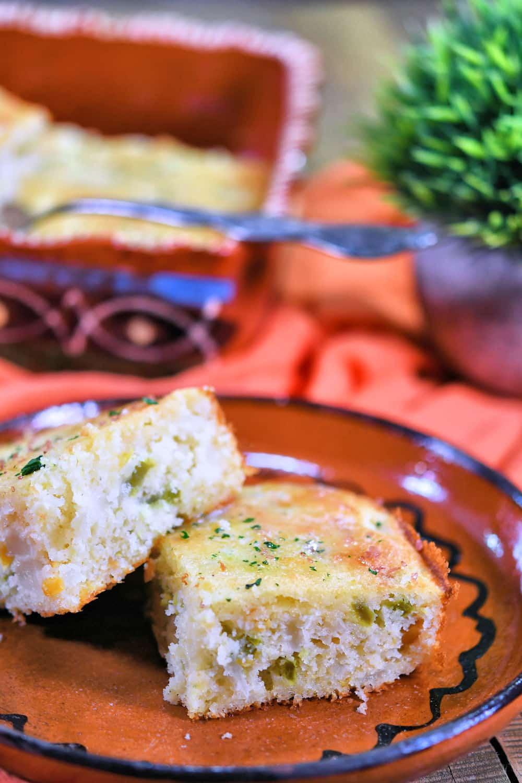 24Bite: Mexican Jalapeno Cornbread Recipe by Christian Guzman