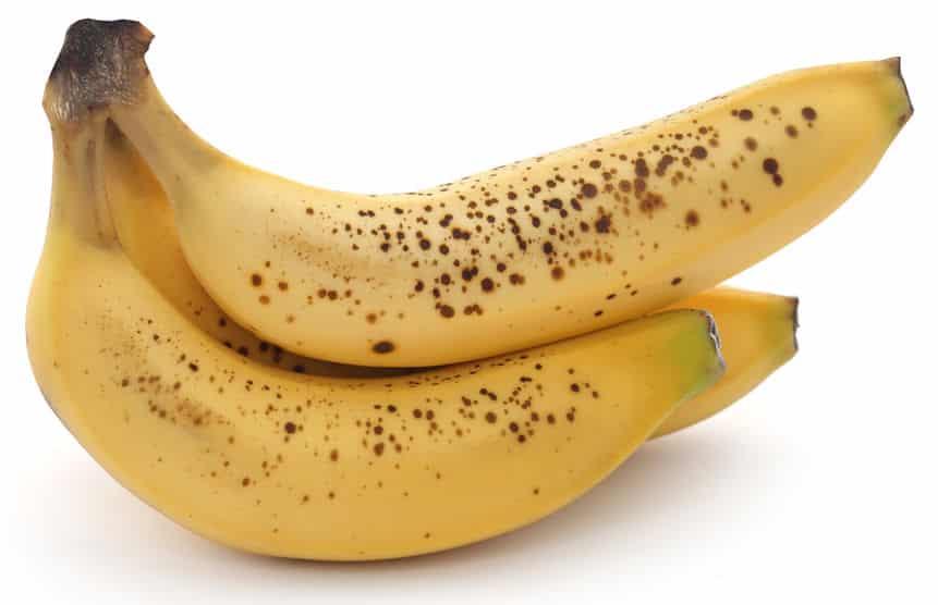 Three ripe bananas ona white counter ©  Mohammed Anwarul Kabir Choudhury via 123rf.com