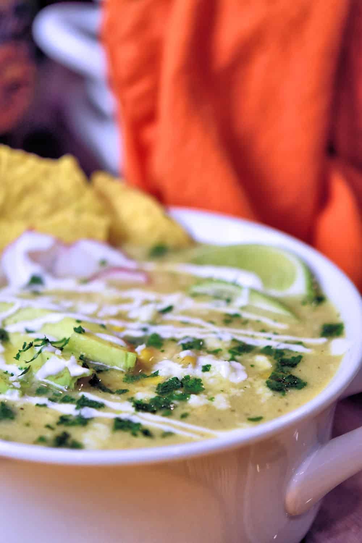 24Bite: Green Chile Chicken Soup Recipe by Christian Guzman