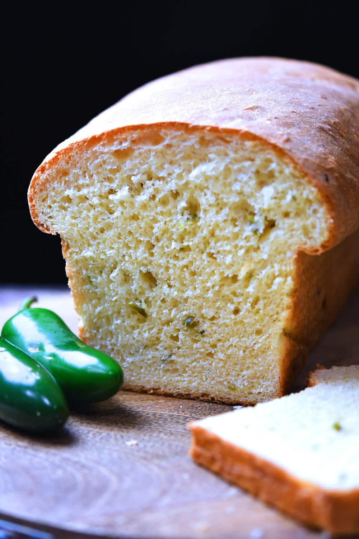 24Bite: Bread Machine Jalapeno Cheese Bread Recipe by Christian Guzman