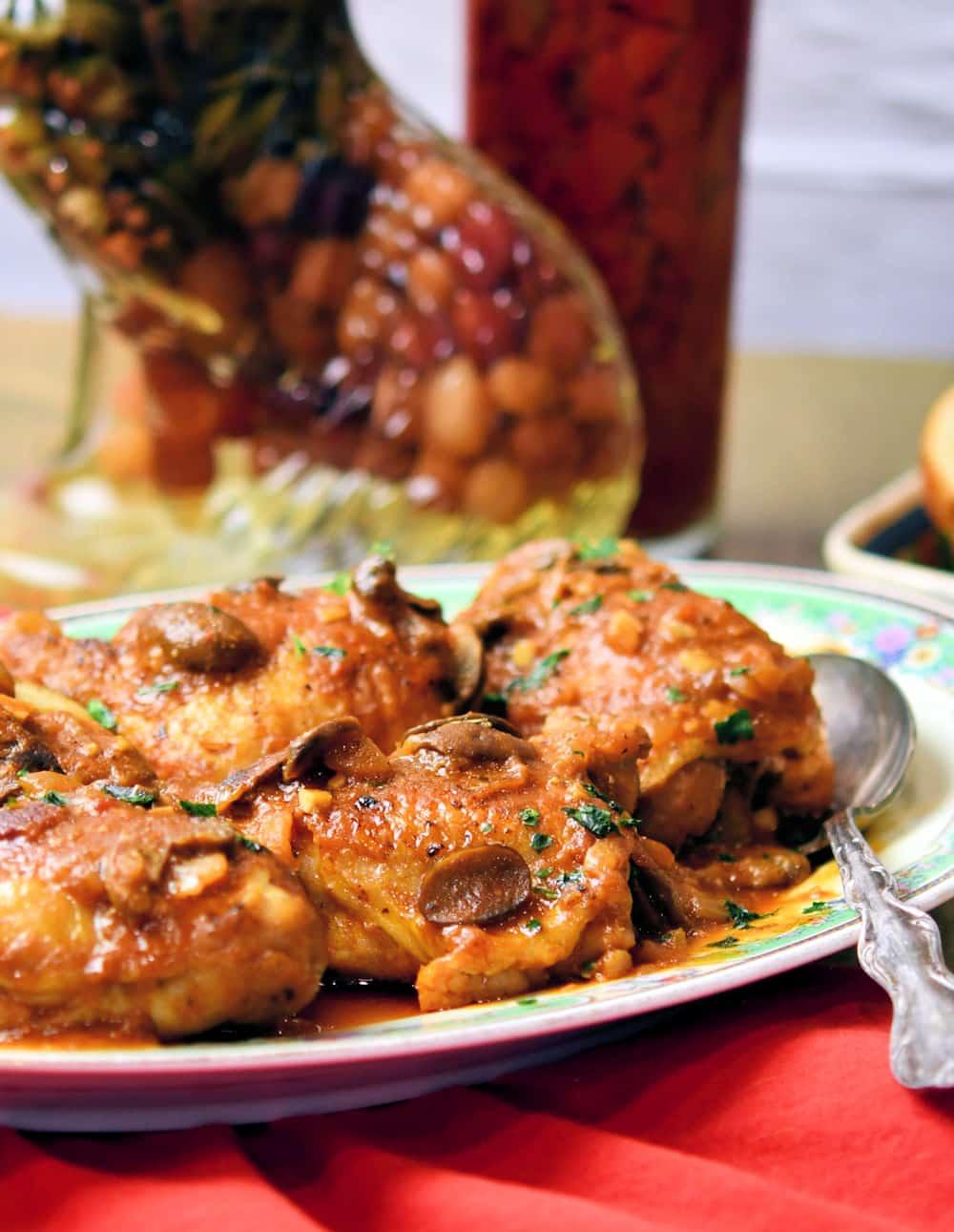 24Bite: Chicken Chasseur French Hunter's Chicken Recipe by Christian Guzman