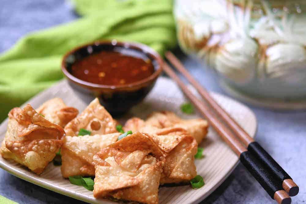 24Bite: Shrimp Rangoon Air Fryer or Deep Fried Recipe by Christian Guzman