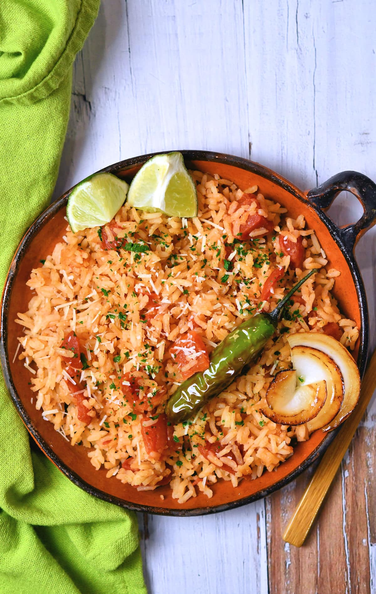 24Bite: How to Make Spanish Rice aka Mexican Rice From Scratch Recipe from Christian Guzman