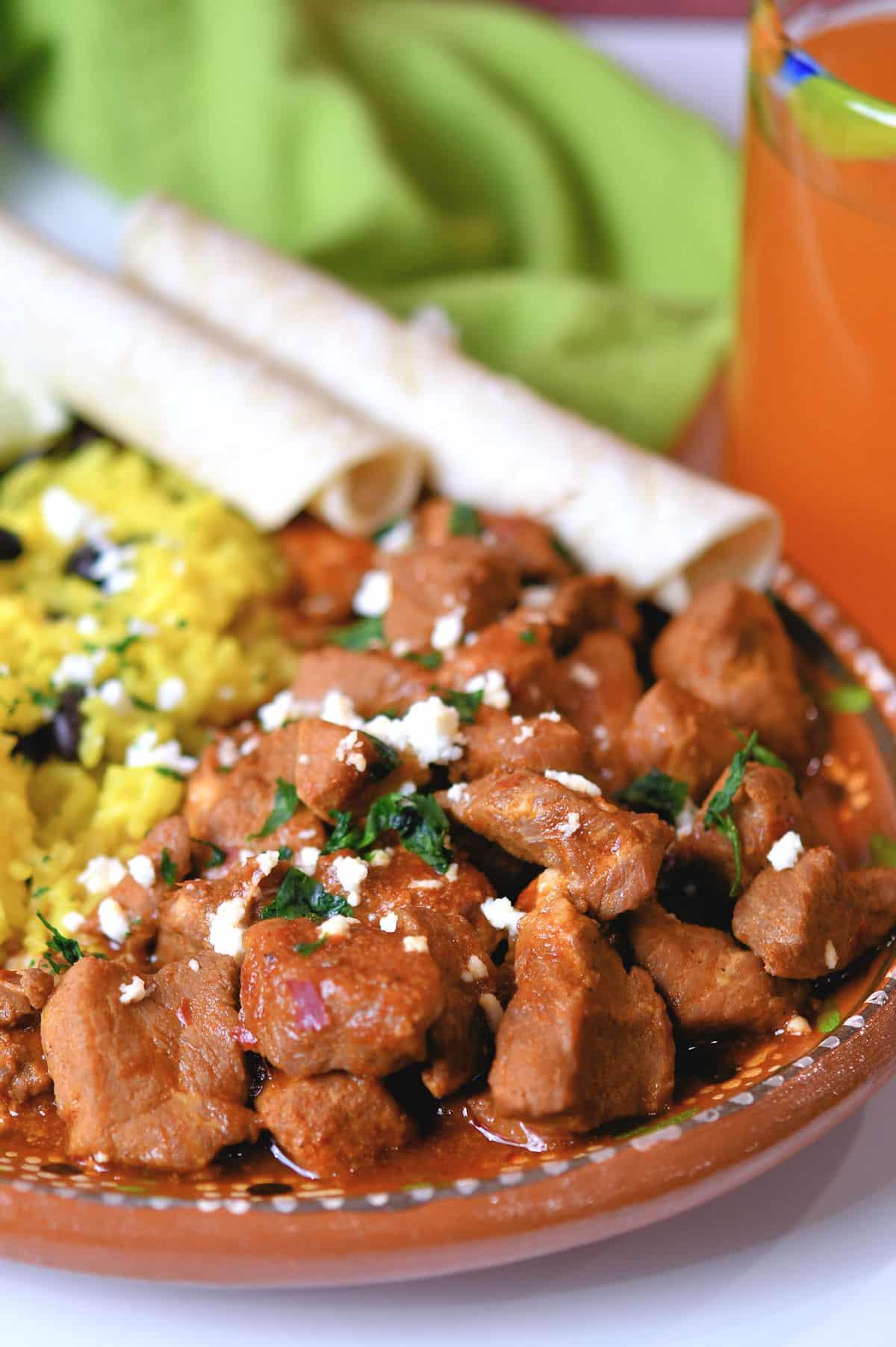24bite: Pork Chile Colorado Asado recipe by Christian Guzman