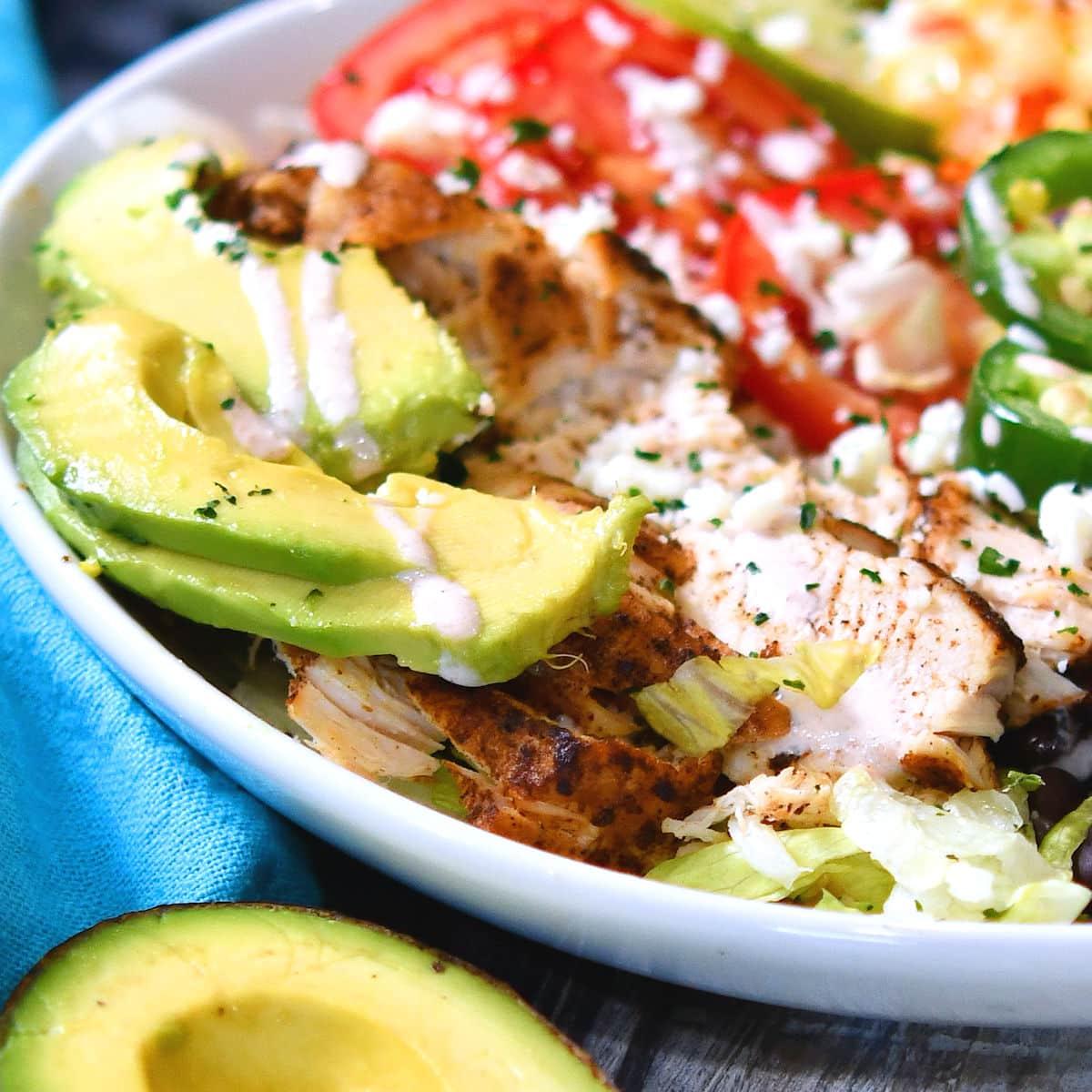 24Bite: Ancho Chicken Burrito Bowl Instant Pot Recipe by Christian Guzman