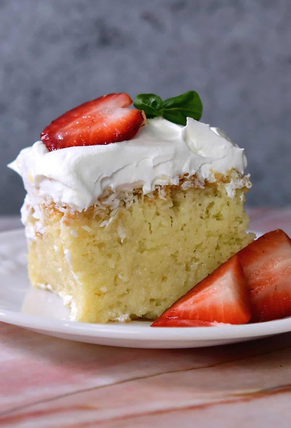 24Bite: Dairy Free Tres Leches Cake recipe by Christian Guzman