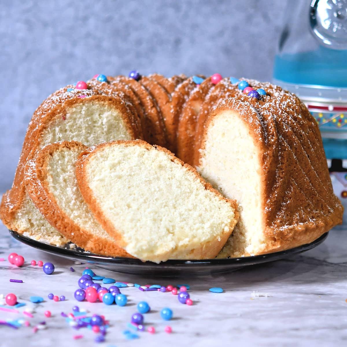 24Bite: Almond Pound Cake No Yolks Recipe by Christian Guzman