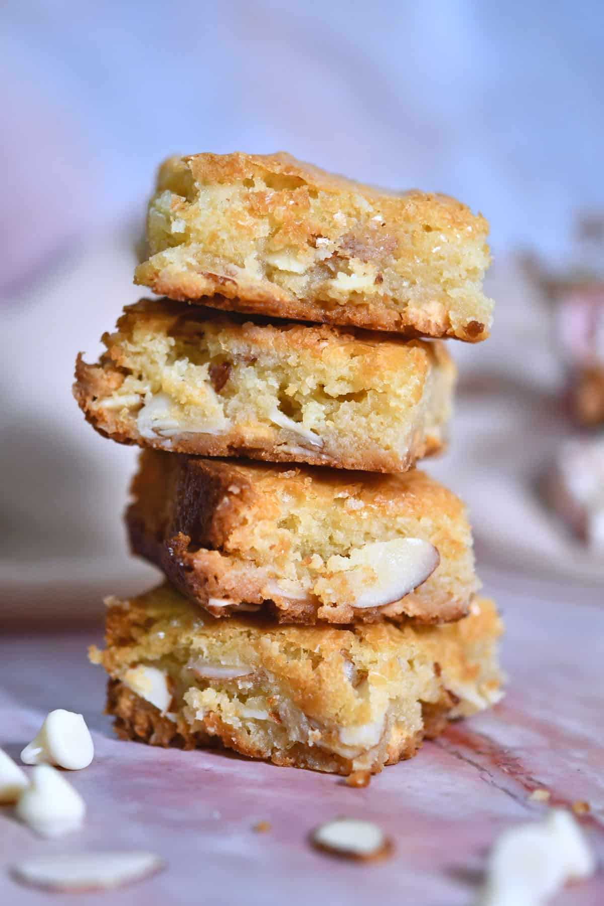 24Bite: White Chocolate Blondies Recipe by Christian Guzman