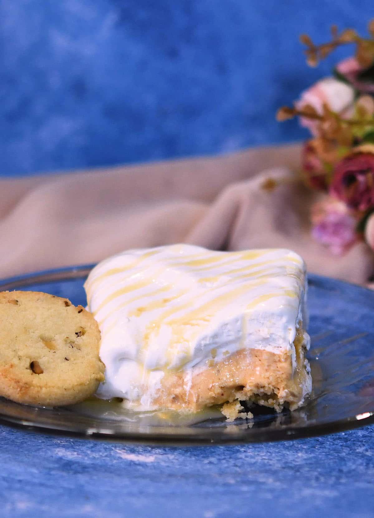 24Bite: No Bake Pumpkin Dessert Cream Cheese Recipe by Christian Guzman
